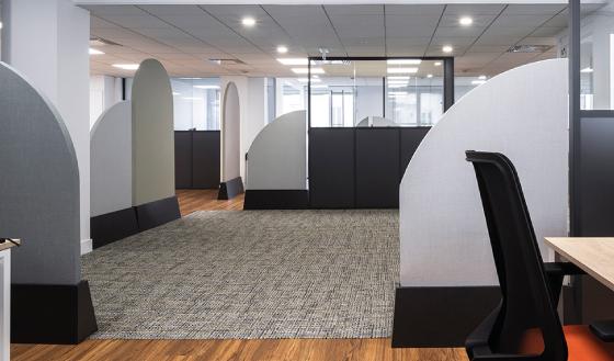 aménagement intérieur espace de travail